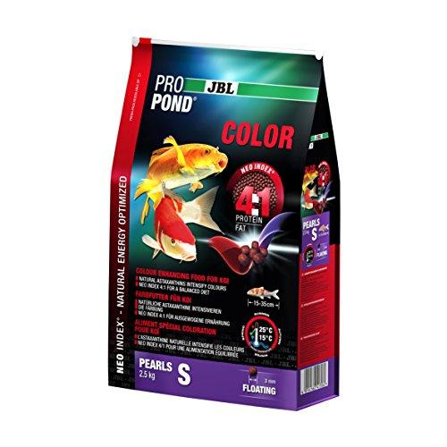 JBL 4130600 Farbfutter Koi, Schwimmende Futterperlen, Spezialfutter, ProPondColor, Größe S Preisvergleich