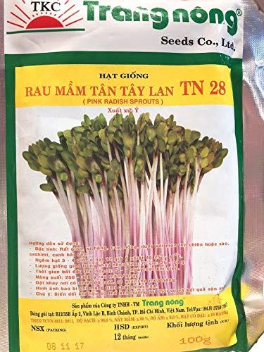 Generic Seeds: Microgreen organisch rau mam tan tay LAN 1 Gramm Tan-rau