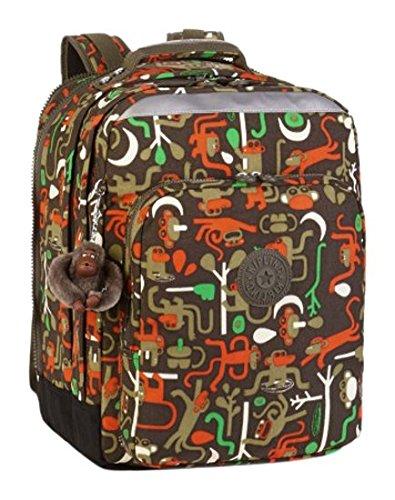 Kipling - COLLEGE - Grand sac à dos - Monkey Frnds Kh - (Multi-couleur)
