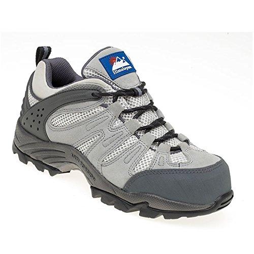 Himalayan Ladies Grey Composite (Metal Free) Safety Trainer – UK Size: 4