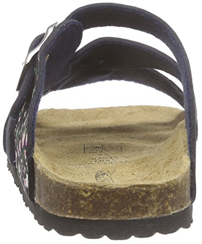 Softwaves 474 087, Mules fille Bleu - Blau (Navy 839)