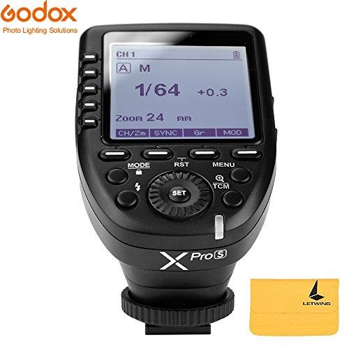 Godox XPro-S 2.4G TTL Wireless Blitzauslöser Wirless X System High-Speed mit großen LCD-Bildschirm-Sender für Sony Kamera - Sony-sender