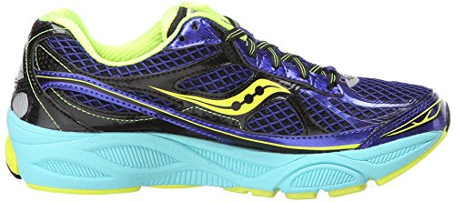 Saucony Damen Running Powergrid Ride 6 Twilight / Oxigen / Citron