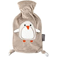 """Preisvergleich für Fashy """"Pia"""" 35720.4 Wärmflasche/Kinderwärmflasche Pinguin ~ Thermoplast- Wärmeflasche mit kuschelweichem Flauschbezug..."""