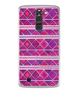 PrintVisa Stunning Texture High Gloss Designer Back Case Cover for LG K7 :: LG K7 Dual SIM :: LG K7 X210 X210DS MS330 :: LG Tribute 5 LS675