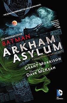 Batman Arkham Asylum 25th Anniversary por Dave Mckean