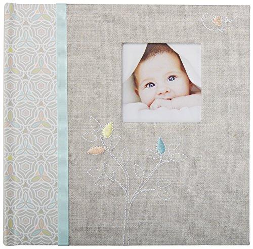 cr-gibson-slim-compact-bambino-photo-album-journal-newborn-baby-gift-set-keepsake-memory-book-bambin