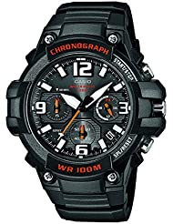 Casio Reloj con movimiento cuarzo japonés Man Collection Negro