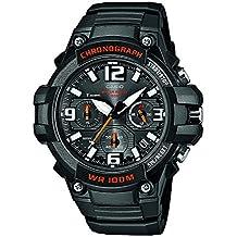 Casio Collection – Reloj Hombre Analógico con Correa de Resina – MCW-100H-1AVEF