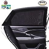Tospanic 2pièces de pare-soleil pour fenêtre de voiture pour protection UV maximale, pour bébé, enfants et chiens
