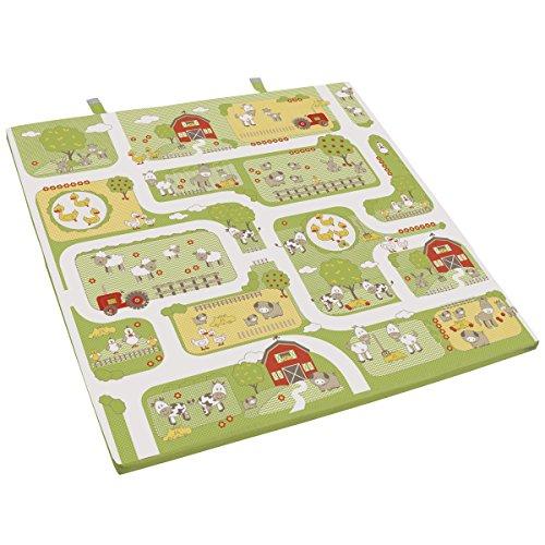 Spiel- und Krabbelmatratze Bauernhof • Kinder Baby Spielmatratze Krabbel Schlaf Matratze Kuschel Spiel Matte