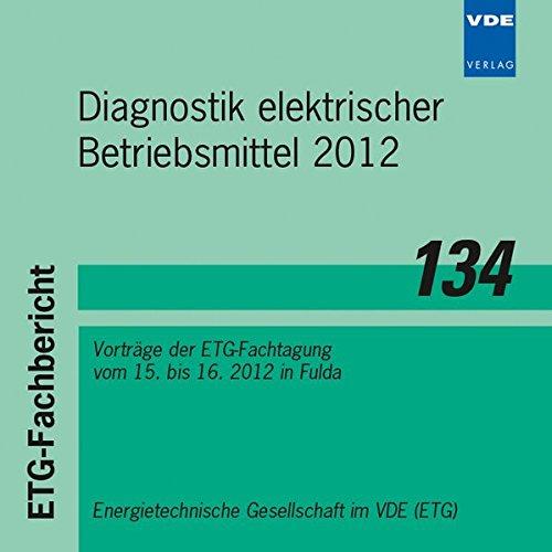 Diagnostik elektrischer Betriebsmittel: Vorträge der ETG-Fachtagung vom 15. bis 16.11.2012 in Fulda Elektrischen Generator, Der Kleine