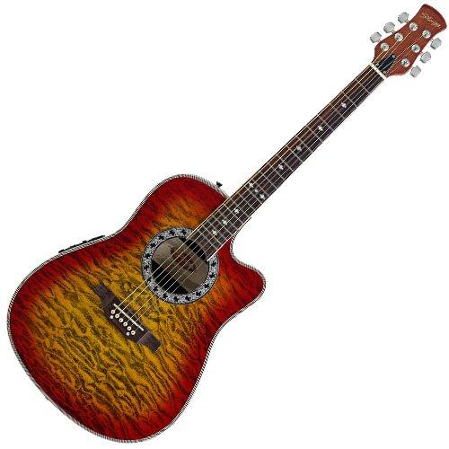 Stagg A4006-CS Guitarra electro-acústica Ráfaga de la cereza