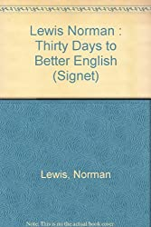 Lewis Norman : Thirty Days to Better English