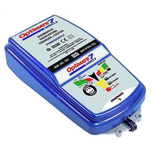 TecMate OptiMATE 7 Select TM250, 9-stufiges 10-A-Batterieladegerät für 12V-Starter- und Deep-Cycle-Batterien