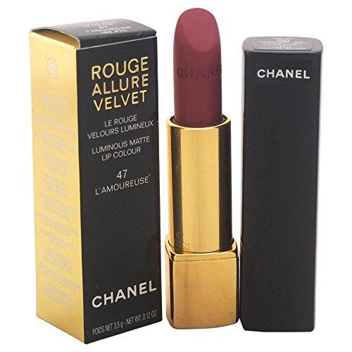 Chanel rot Allure Velvet 47l'amoureuse 3.5 g - Damen, 1er Pack (1 x 1 Stück)