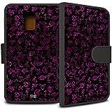 YOUNiiK Booklet Case Tasche (schwarz) für Samsung Galaxy S5 Mini - Chroniken der Unterwelt: City of Bones / Clary Sage