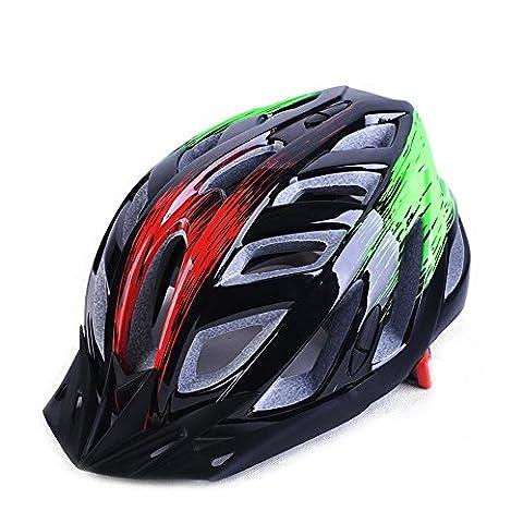 TKWMDZH® Casco di luce strada mountain bike biciclette uomini e donne equitazione attrezzature di stampaggio , 15