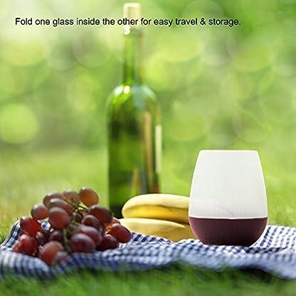 Unzerbrechliche-Silikon-Splmaschine-Safe-Stemless-Weinglas-IHUIXINHE-ungiftig-Flexible-Portable-Glser-BPA-frei-Splmaschine-Mikrowelle-Backofen-und-Gefrierschrank-Safe-12-oz-4-Farben-4er-Set