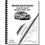 Audi A6, Typ 4F (04-11) Multitronic Getriebe 0AN Frontantrieb Reparaturanleitung