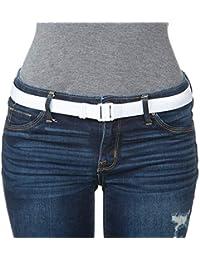 """'""""collant Up"""" morbido, elasticizzato, comodo, piatto fibbia della cintura. Regolabile, antiscivolo, (passanti Unneeded). Indossare con collant/leggings/jeans/uniformi"""