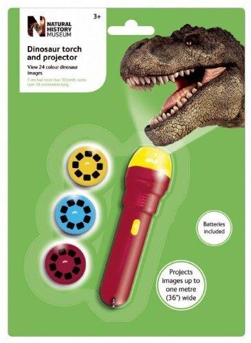 Brainstorm Museo de enseñanza de la historia Natural dinosaurios linterna pared proyector juguete, pack de 12unidades