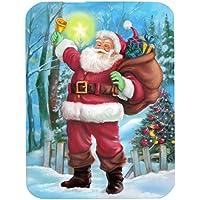Christmas Santa Rining la campana tappetino per mouse, presina o sottopentola APH5001MP