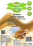 guaraná Paulina cupana cafeína polvo Pur | Energy Drink polvo | 100% Natural | sin Química aditivos, 1er Pack (250g)