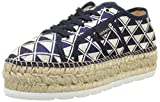 Victoria Basket Geometrico Plataforma Yute, Alpargata para Mujer, Azul (Marino), 40 EU