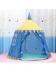 LD-Tentes de jeux pour enfants Grande yourte Prince Blue Castle