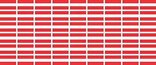 Set Pack glatt - 20x12mm - selbstklebender Aufkleber - Österreich - Sticker fürs Büro, Schule und zu Hause - 54 Stück ()