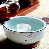 Generic chrysanthemum : Handmade Ceramic Water Tea Wash Big Wash Or Puer tea caddy High Quality Tea Wash, food plate, flower pot, fish bowl