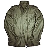 Alpha Industries M-65 Field Jacket original Army Nyco Satin, Größe:XL, Farbe:Olive