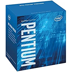 Intel Box Processore Pentium Dual-Core G4500, Nero