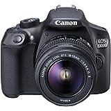 Canon EOS 1300D / Rebel T6 / KISS X80  18-55 / 3.5-5.6 EF-S IS II Appareils Photo Numériques 18.7 Mpix