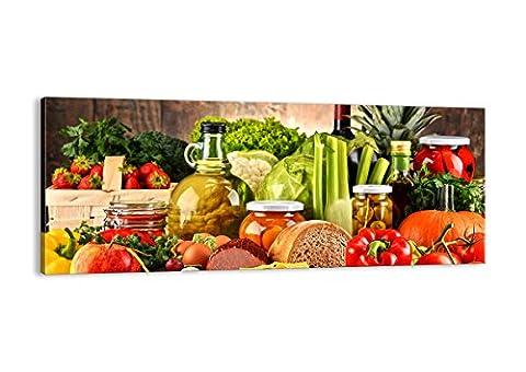 Bild auf Leinwand - Leinwandbilder - Einteilig - Breite: 100cm, Höhe: 40cm - Bildnummer 3182 - zum Aufhängen bereit - Bilder - Kunstdruck - AB100x40-3182