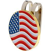 pushfocourag - Rotulador con Gorro magnético con Bandera de Estados Unidos