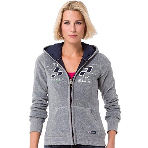 Gaastra Damen Sweater / Fleecejacke Grau
