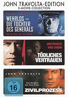 John Travolta : Tödliches Vertrauen - Wehrlos Die Tochter Des Generals - Zivilprozess - 3DVD