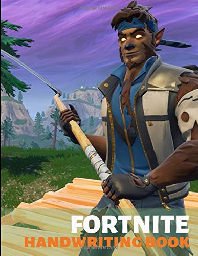 Fortnite Handwriting Book: Large 8.5x11 Blank dotted (100 pages)Sheet for writing. Ideal as notebook,Journal,Workbook for ... and Learn to Write Ages 3-6 |  (Unofficial)