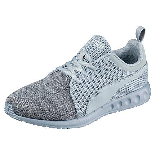 Puma Carsnruncamokntf6, Chaussures d'Athlétisme Mixte Adulte gris clair/gris