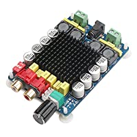 DROKŽ TDA7498 Digital Power Amplifier Board, 100W+100W Binaural Stereo Audio Amplifier, Computer Amp with Two-channel Stereo for Home Theater & Active Speaker Applications