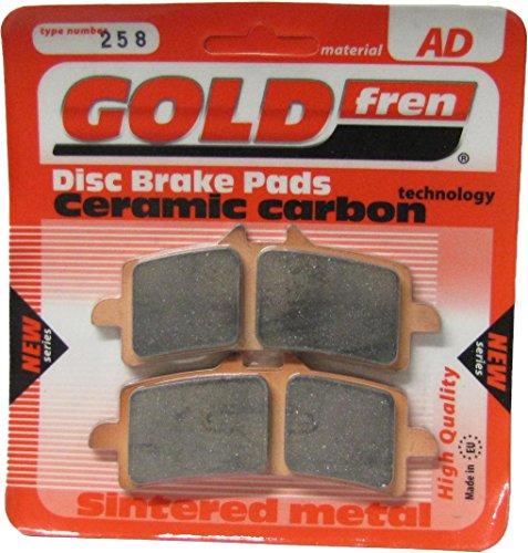 Ducati 1098 pastiglie per freni a disco anteriore DX Goldfren 2007-2009