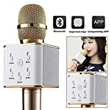#8: RFV1 Bluetooth wireless Karaoke mike compatible with all Smart Phones and with Other Functions like Echo , Treble , Bass , etc.