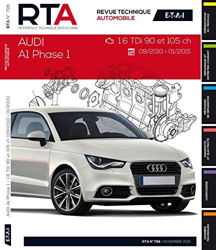 RTA B798 Audi A1 (09/2010 >01/2015) 1.6Tdi 90et105CH