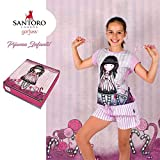 Pijama Infantil / Juvenil Verano Gorjuss - Sugar and Spice, 12 años
