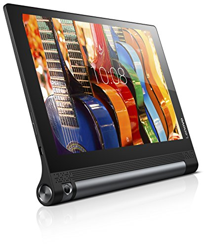 Lenovo Yoga Tab 3-10 25,65cm (10,1 Zoll HD) Convertible Media Tablet (Qualcomm MSM8909 Quad-Core, 1,3GHz, 2GB RAM, 32GB eMMC, Kamera (drehbar): 8MP, Touchscreen, Dolby Atmos, LTE, Android 5.1) schwarz