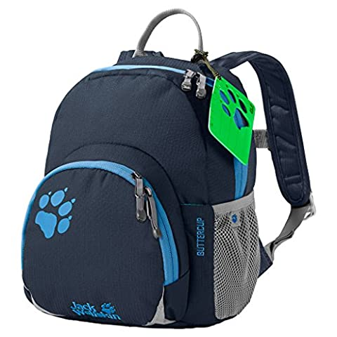 Jack Wolfskin Buttercup Kids Backpack Night Blue, nuit bleu, 28.5 x 23.5 x 7 cm, 4.50 Litre