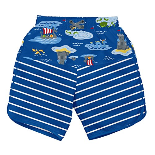 i play. 722154-642-42 Mix und Match Ultimative Schwimmwindel Board Shorts 3-6 Monate, Royal Viking Sea (Bambus-baumwoll-shorts)