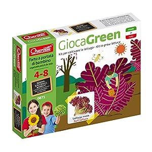 Quercetti 0671-Juegos Green Lattuga roja